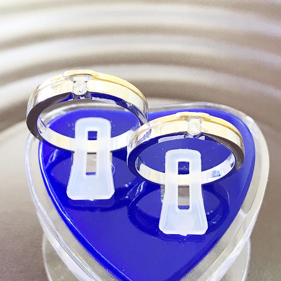 Nhẫn đôi bạc ND1106