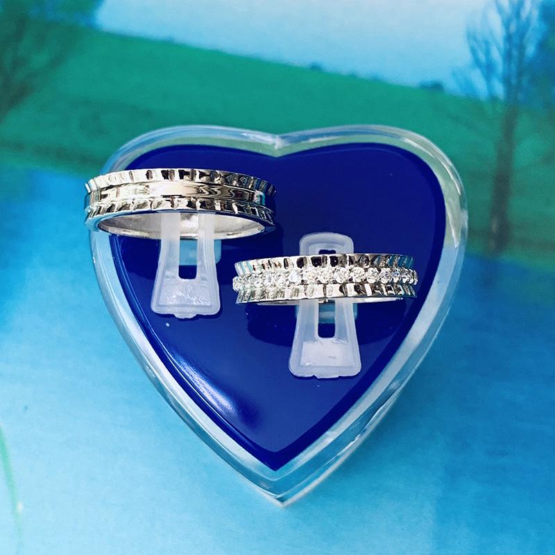 Nhẫn đôi bạc ND1164