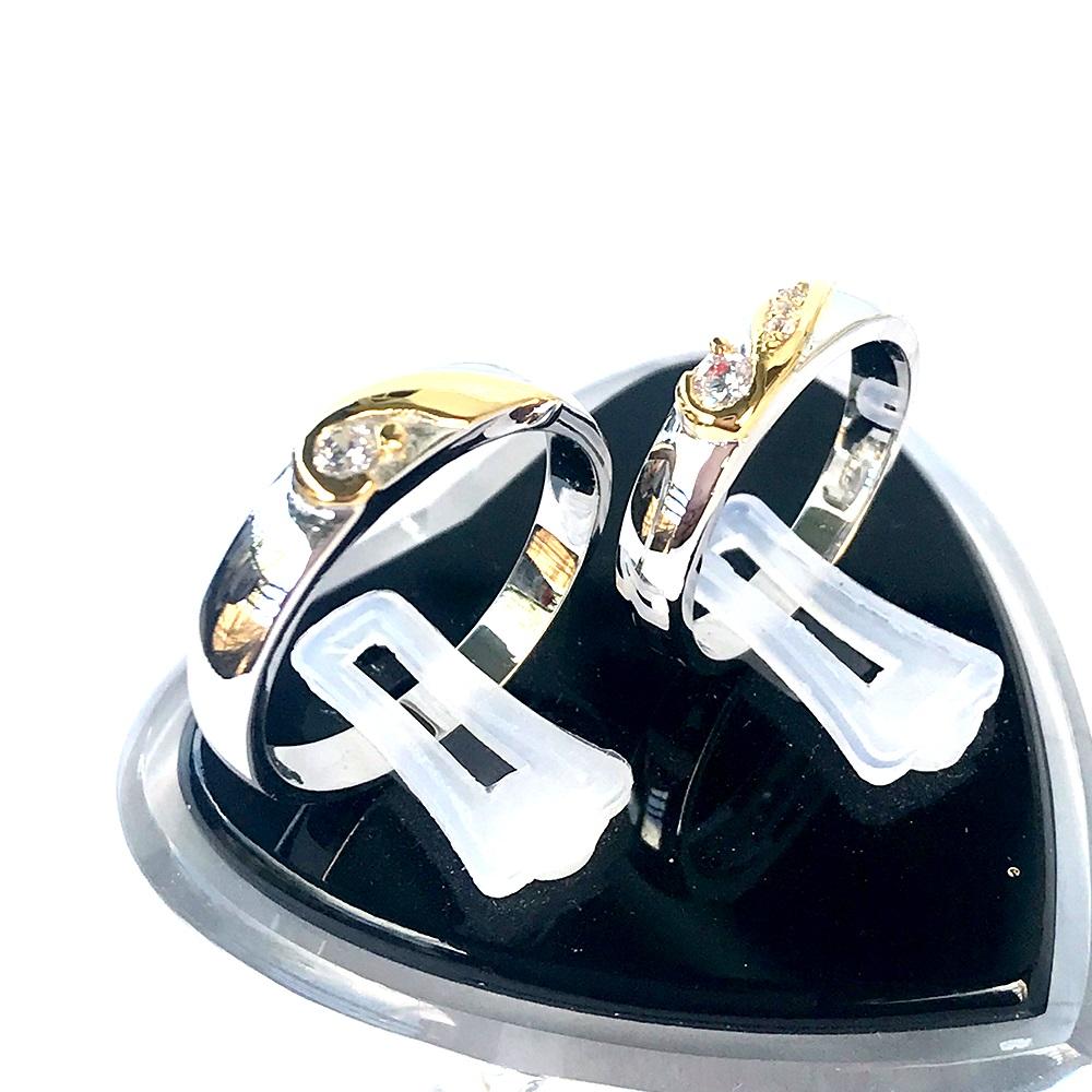 Nhẫn đôi bạc ND1054