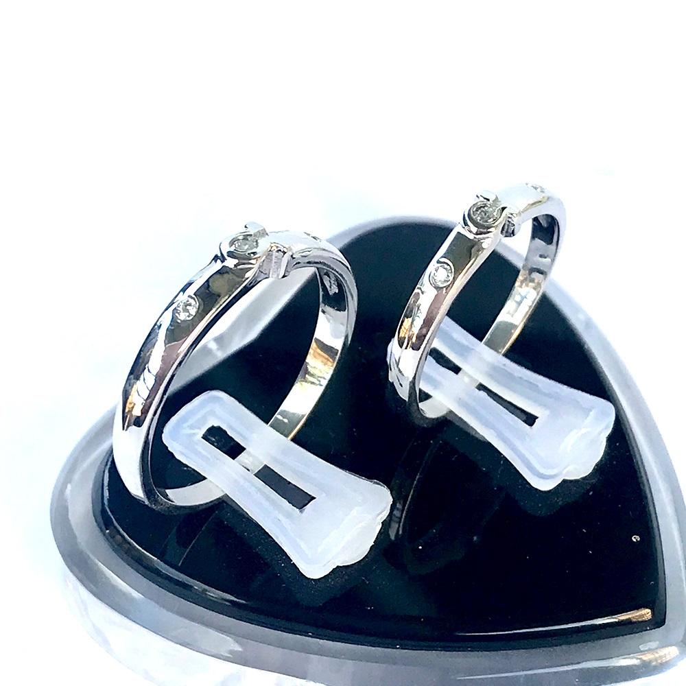 Nhẫn đôi bạc ND1056