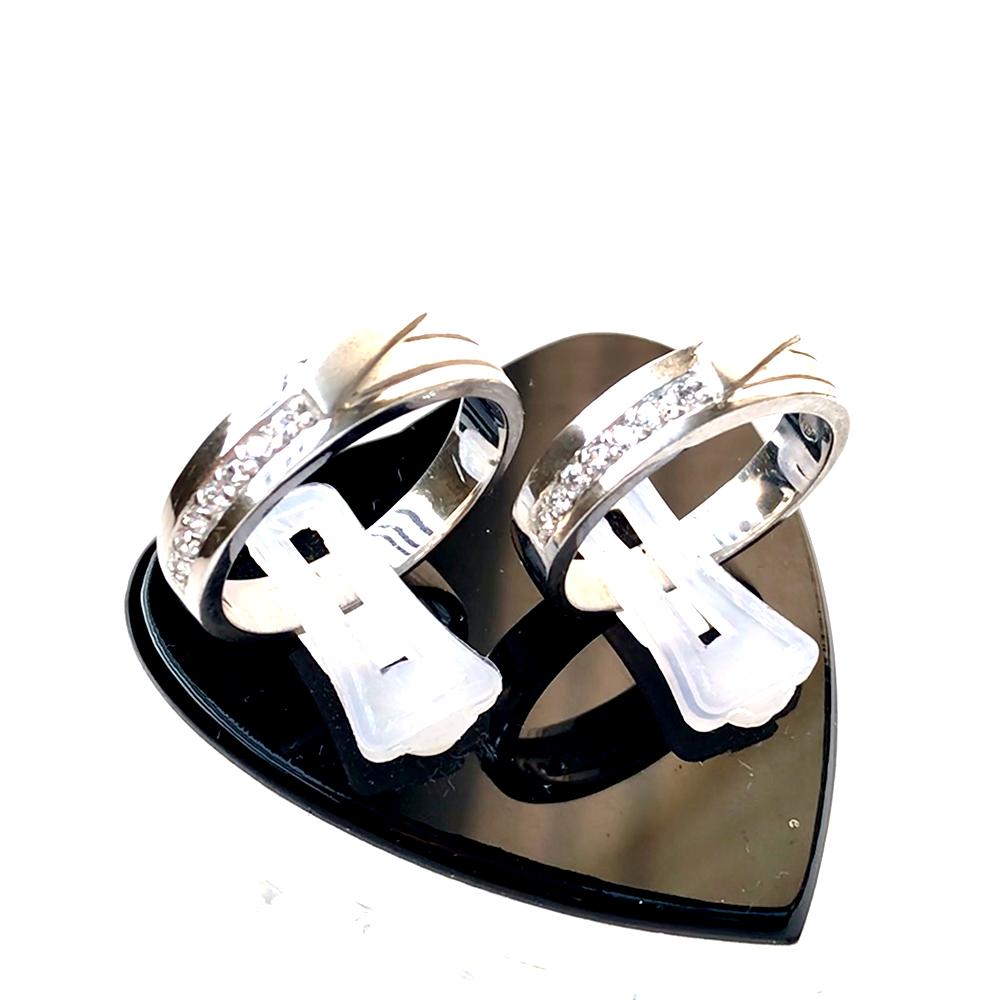 Nhẫn đôi bạc ND1005