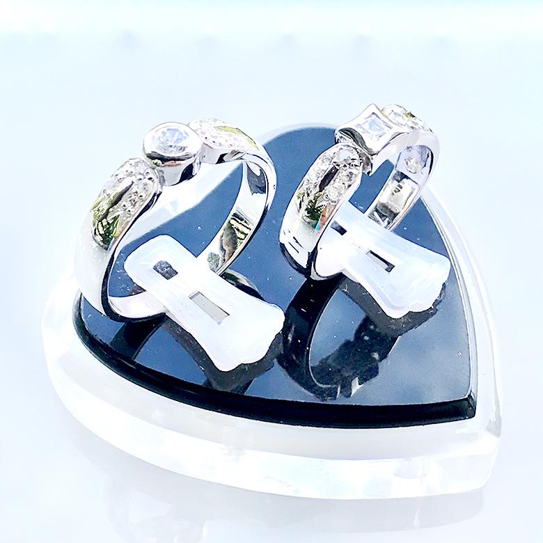 Nhẫn đôi bạc ND1073
