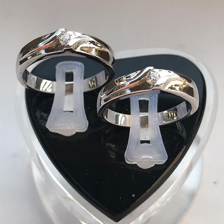 Nhẫn đôi bạc ND1007