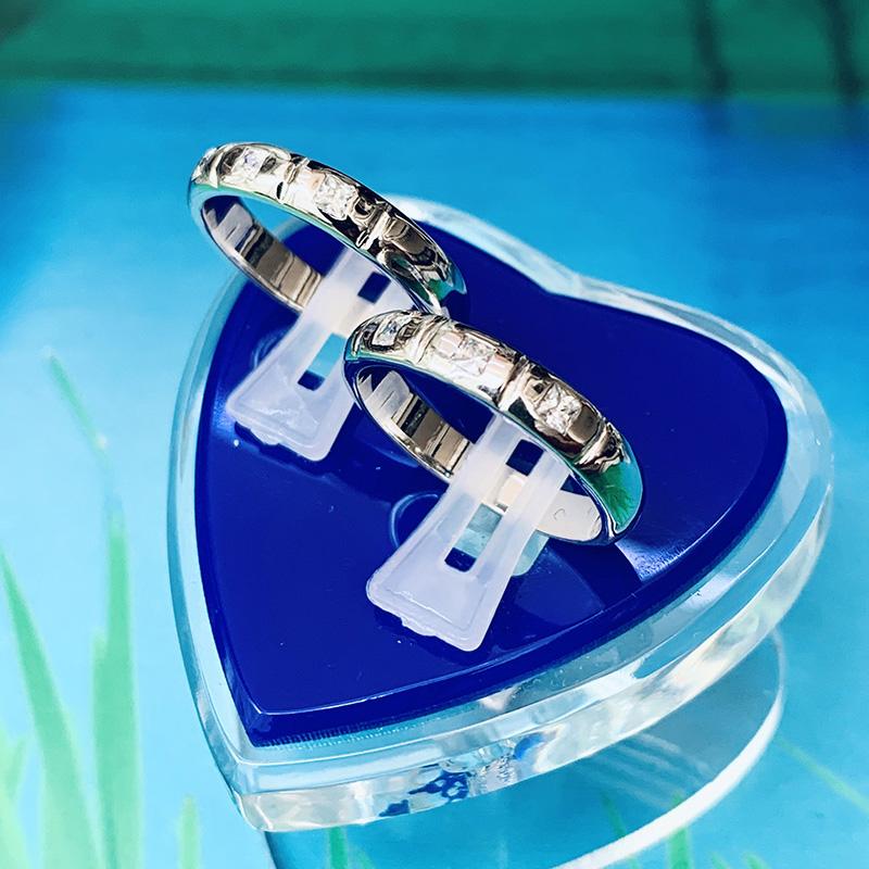 Nhẫn đôi bạc ND1158
