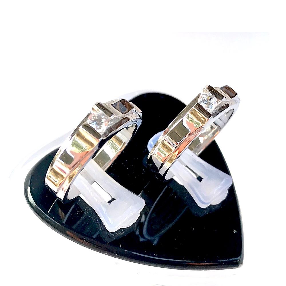 Nhẫn đôi bạc ND1057