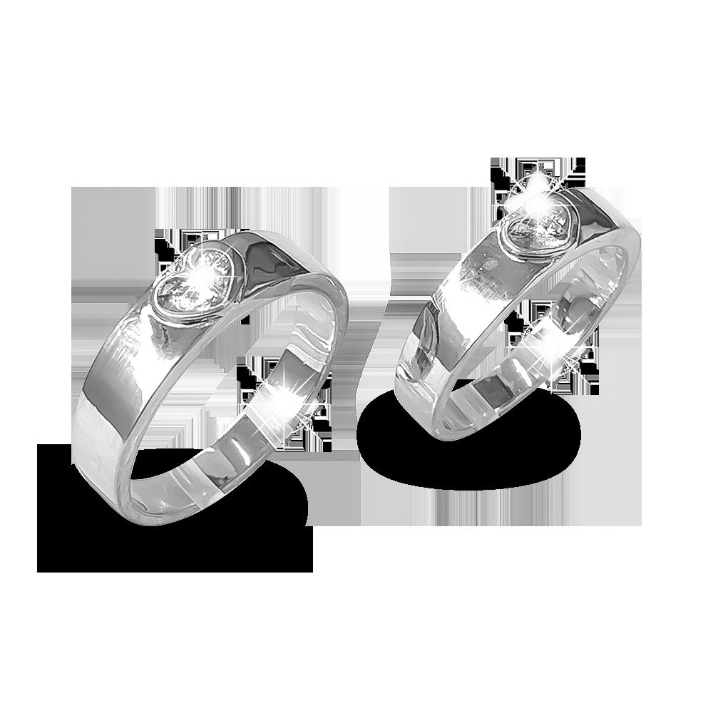 Nhẫn đôi bạc ND1190