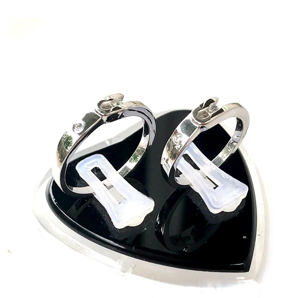Nhẫn đôi bạc ND1047