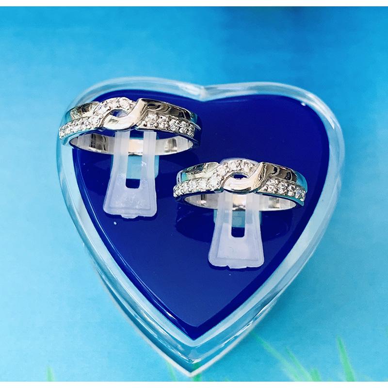 Nhẫn đôi bạc ND1160