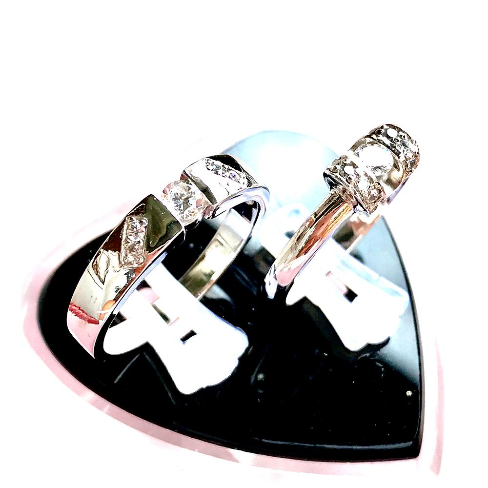 Nhẫn đôi bạc ND1011