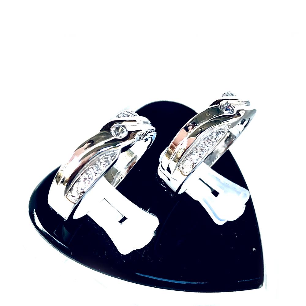 Nhẫn đôi bạc ND1004