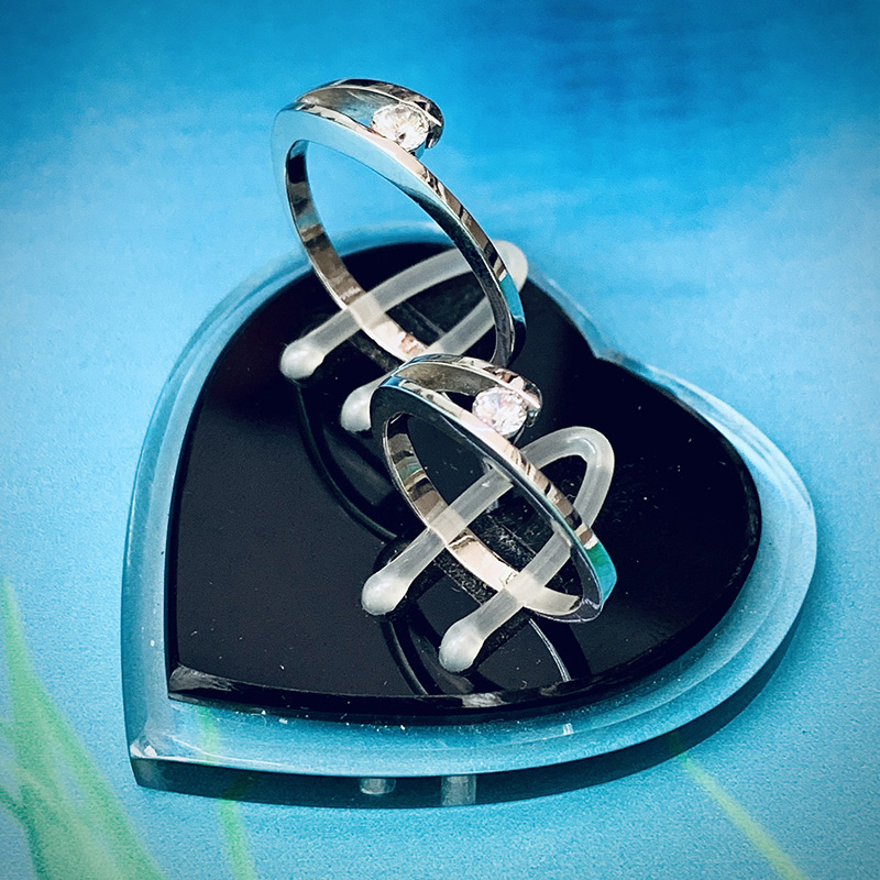 Nhẫn đôi bạc ND1141