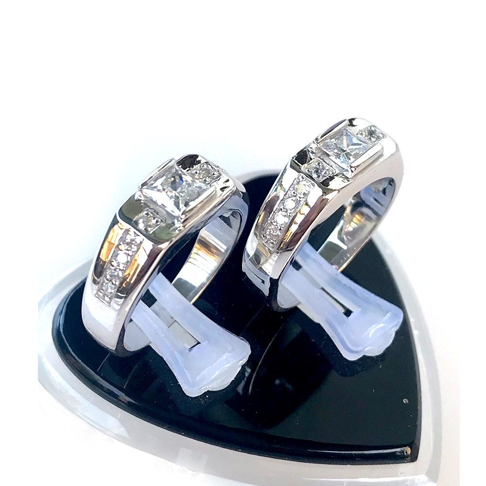 Nhẫn đôi bạc ND1049