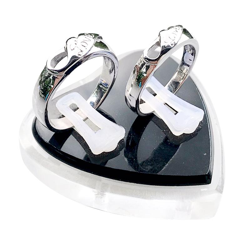 Nhẫn đôi bạc ND1065