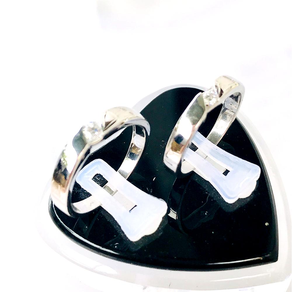 Nhẫn đôi bạc ND1037