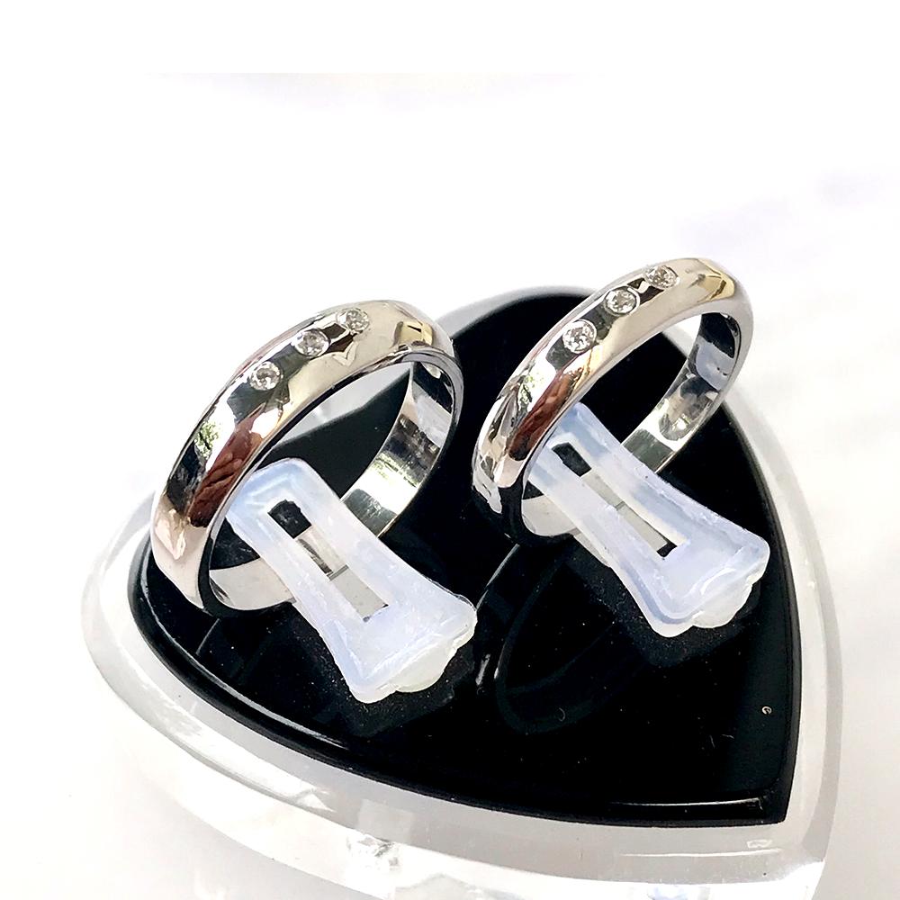 Nhẫn đôi bạc ND1038
