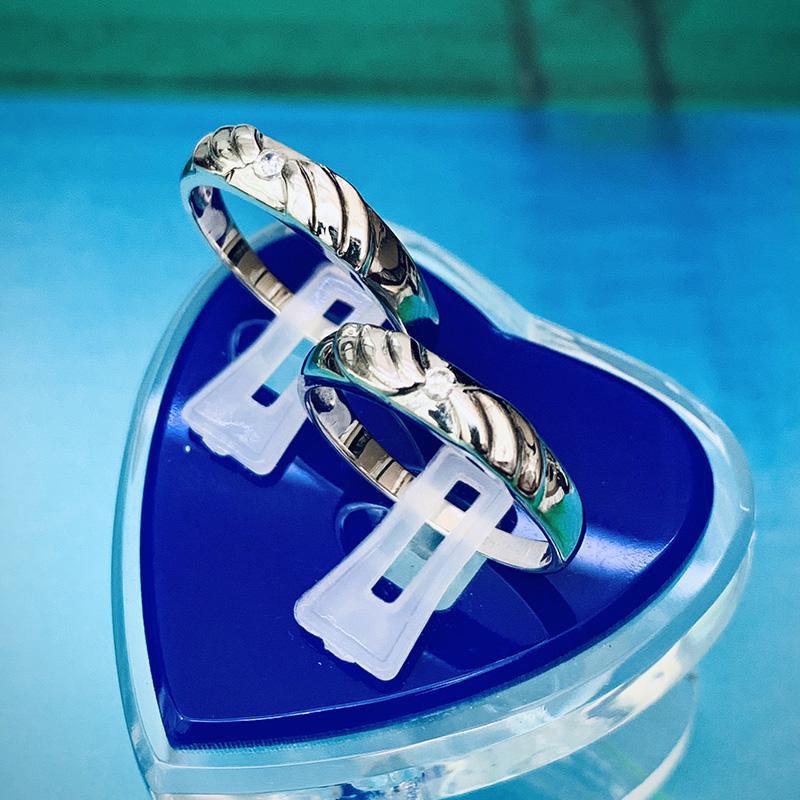 Nhẫn đôi bạc ND1150