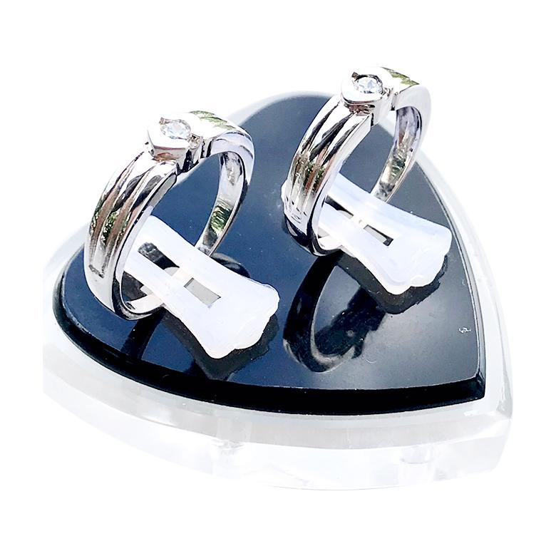 Nhẫn đôi bạc ND1067