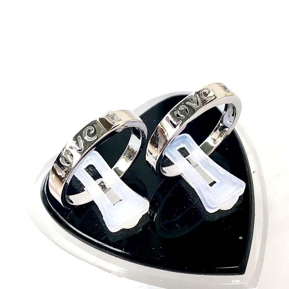 Nhẫn đôi bạc ND1041