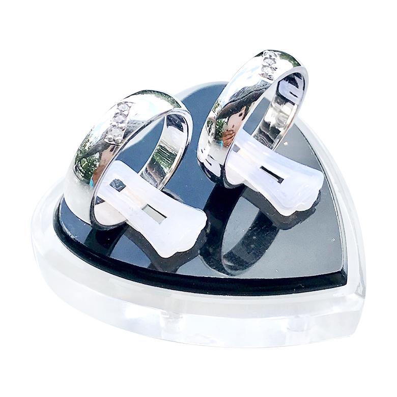 Nhẫn đôi bạc ND1069