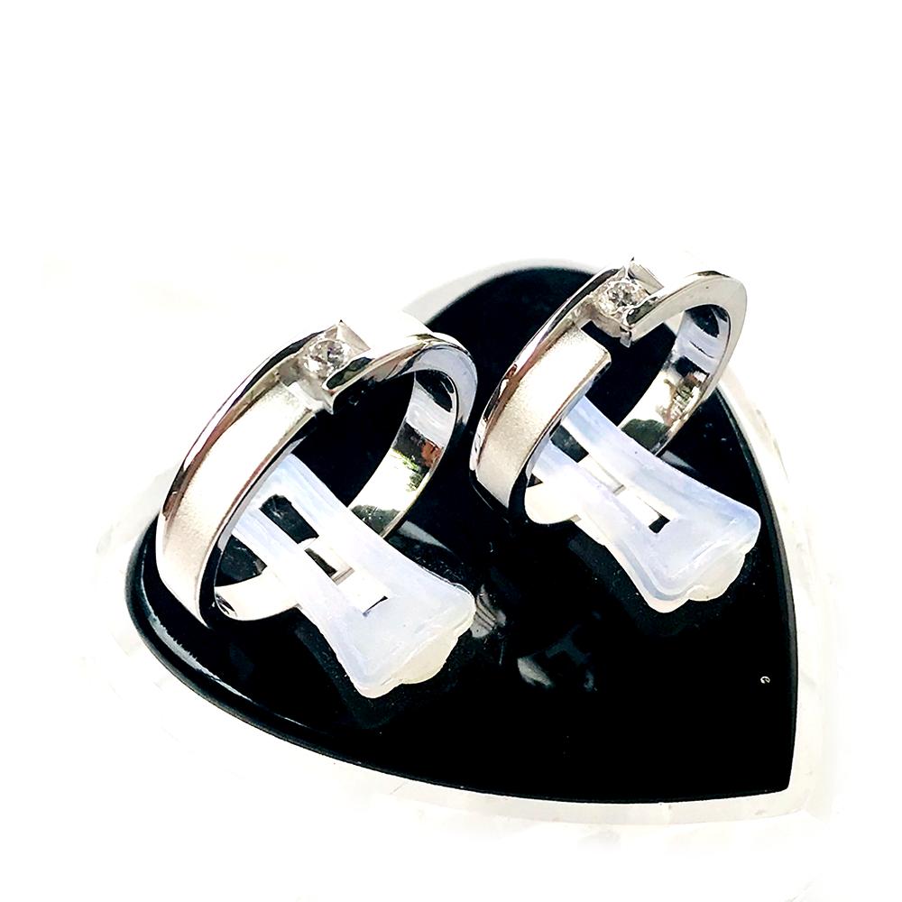 Nhẫn đôi bạc ND1044