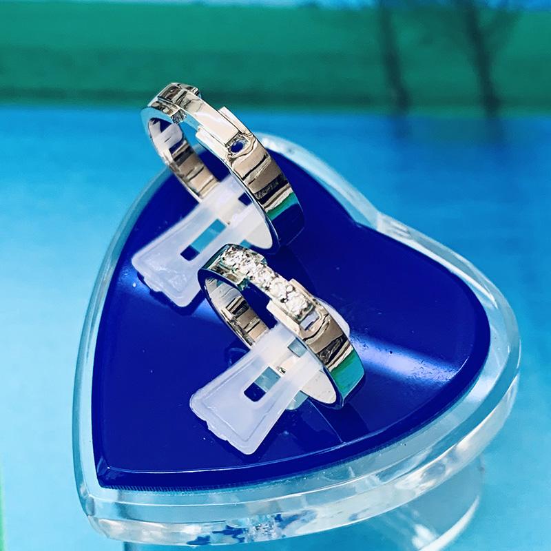 Nhẫn đôi bạc ND1154
