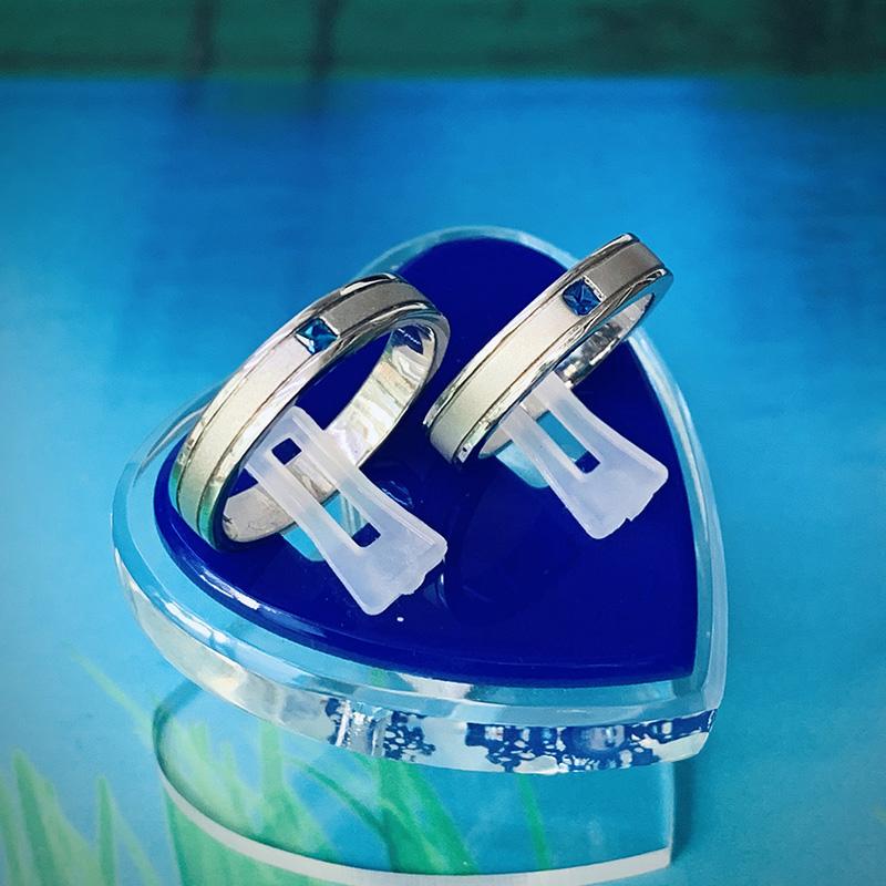 Nhẫn đôi bạc ND1133