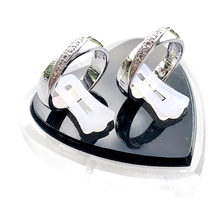 Nhẫn đôi bạc ND1062