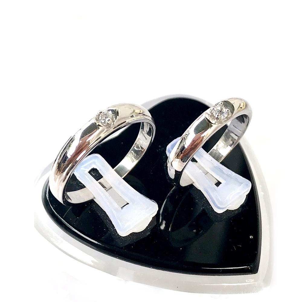 Nhẫn đôi bạc ND1040