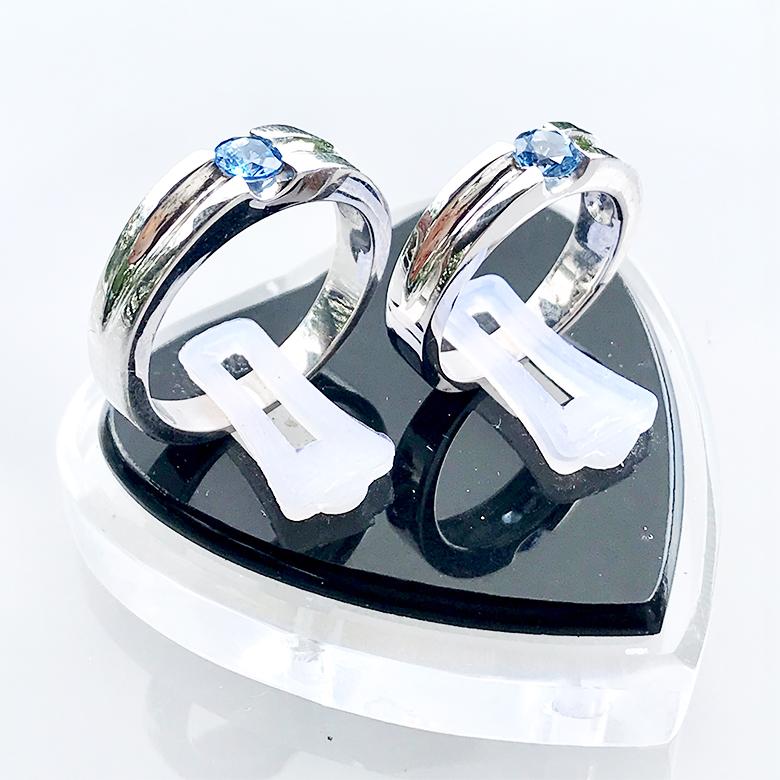Nhẫn đôi bạc ND1084