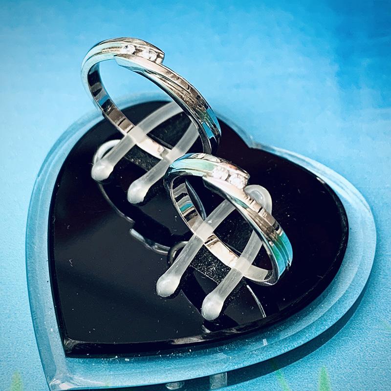 Nhẫn đôi bạc ND1146
