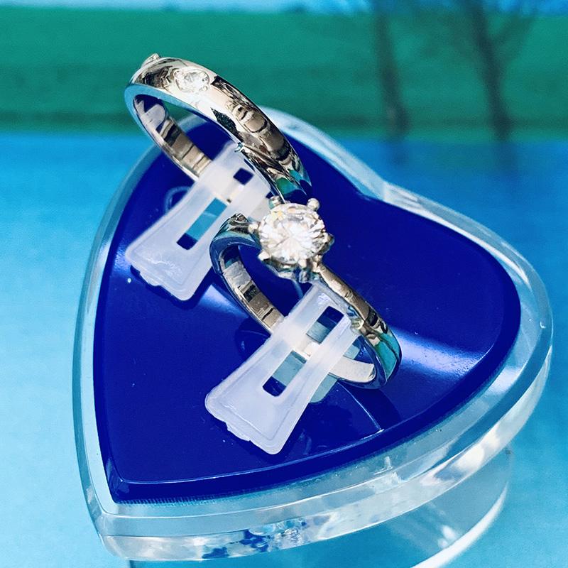 Nhẫn đôi bạc ND1151