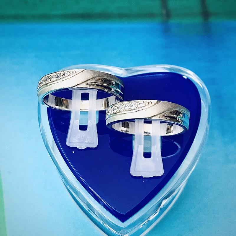 Nhẫn đôi bạc ND1149