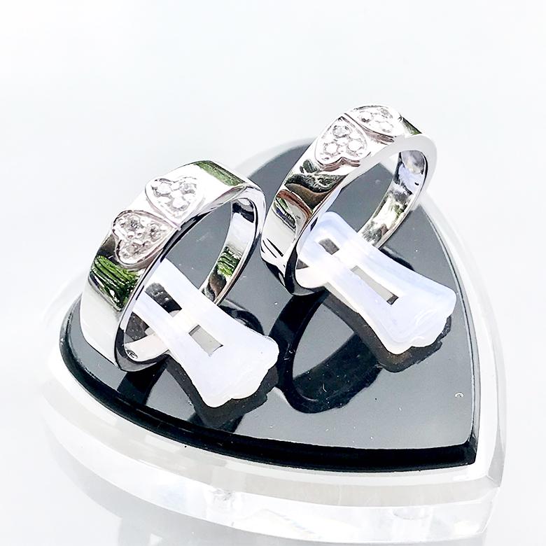 Nhẫn đôi bạc ND1092