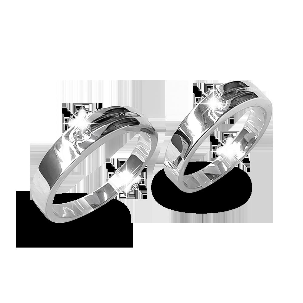 Nhẫn đôi bạc ND1181
