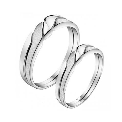 Nhẫn đôi bạc ND0001