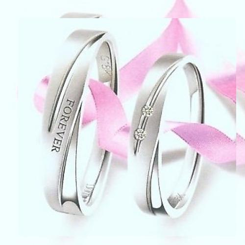 Nhẫn đôi bạc ND0002