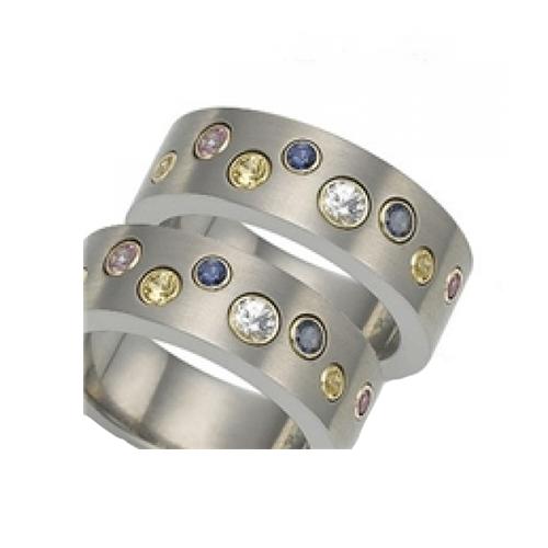 Nhẫn đôi bạc ND0009