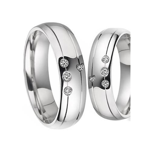 Nhẫn đôi bạc ND0013
