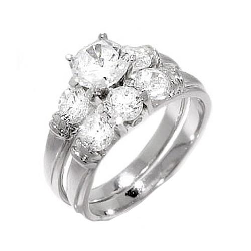 Nhẫn đôi bạc ND0018