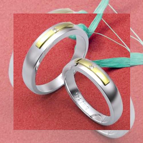 Nhẫn đôi bạc ND0019