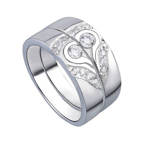 Nhẫn đôi trái tim chân thành - ND0021