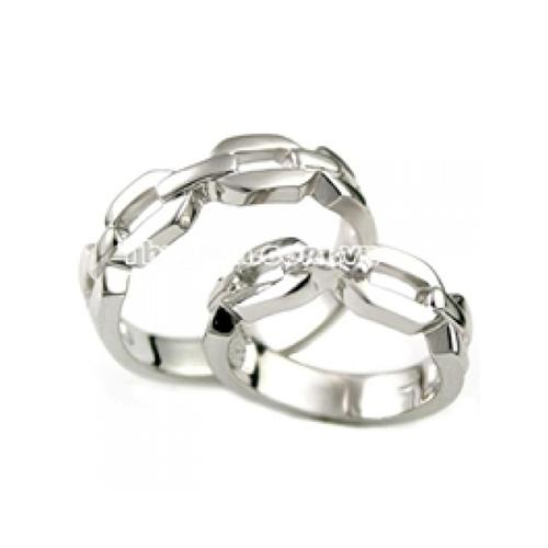 Nhẫn đôi bạc ND0030