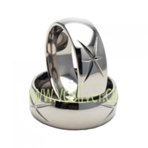 Nhẫn đôi bạc ND0040