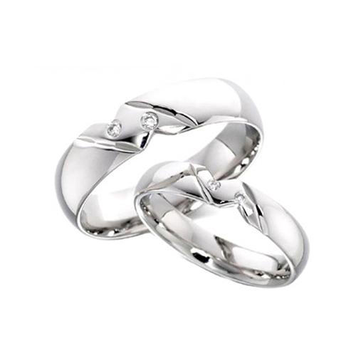 Nhẫn đôi bạc ND0051