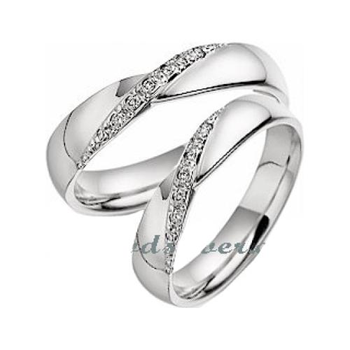 Nhẫn đôi bạc ND0122
