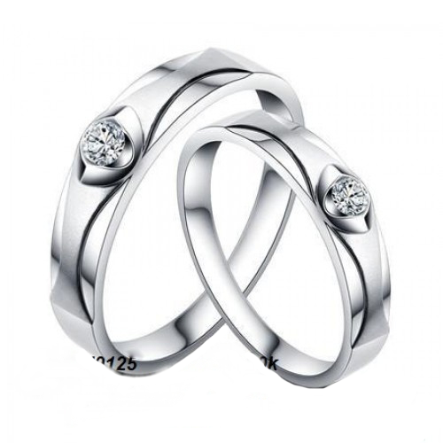 Nhẫn đôi bạc ND0125