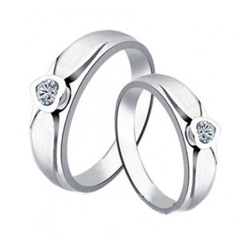 Nhẫn đôi bạc ND0133