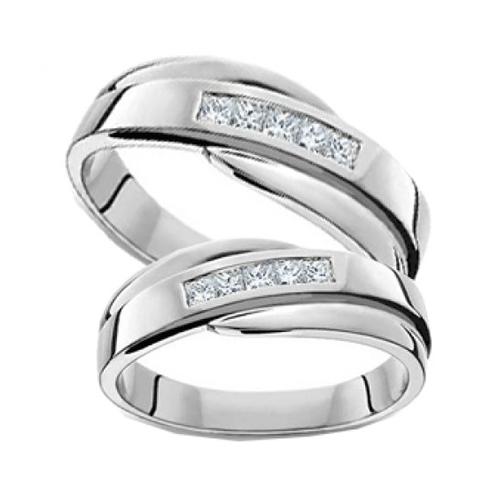 Nhẫn đôi bạc ND0134