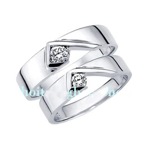 Nhẫn đôi bạc ND0243