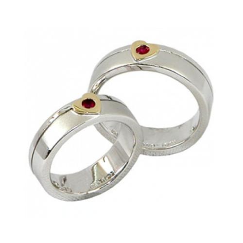 Nhẫn đôi bạc ND0245